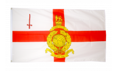 Great Britain Royal Marines Reserve London Flag - 3 x 5 ft. / 90 x 150 cm