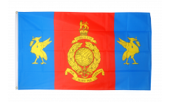Great Britain Royal Marines Reserve Merseyside Flag - 3 x 5 ft. / 90 x 150 cm