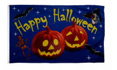 Halloween Happy Halloween Pumpkin Flag