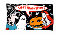 Happy Halloween Monster Flag
