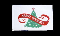 Happy Holidays Flag - 2 x 3 ft.