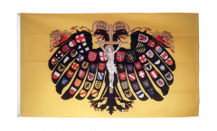 Holy Roman Empire Double-headed Eagle Flag - 3 x 5 ft.