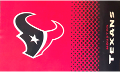 NFL Houston Texans Fan Flag - 3 x 5 ft. / 90 x 150 cm