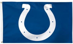 NFL Indianapolis Colts Flag - 3 x 5 ft. / 90 x 150 cm