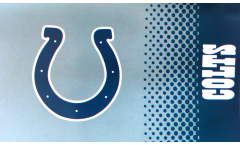 NFL Indianapolis Colts Fan Flag - 3 x 5 ft. / 90 x 150 cm