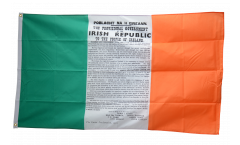 Ireland Easter Proclamation 1916 Flag - 3 x 5 ft. / 90 x 150 cm