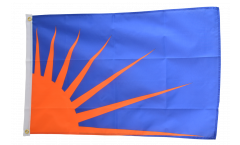 Ireland Sunburst Flag