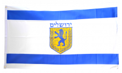 Israel Jerusalem Flag - 3 x 5 ft.