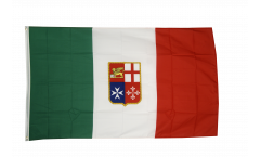 Italy civil ensign Flag