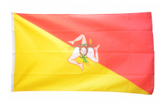 Italy Sicily Flag - 3 x 5 ft. / 90 x 150 cm