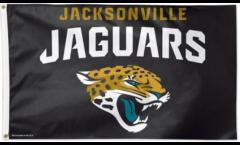 NFL Jacksonville Jaguars Flag - 3 x 5 ft. / 90 x 150 cm