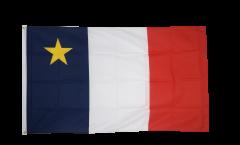 Canada Acadia Flag - 3 x 5 ft. / 90 x 150 cm