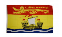 Canada New Brunswick Flag - 3 x 5 ft. / 90 x 150 cm