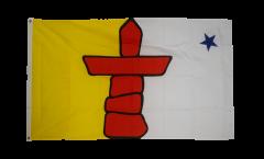 Canada Nunavut Flag - 3 x 5 ft. / 90 x 150 cm