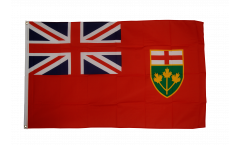 Canada Ontario Flag - 3 x 5 ft. / 90 x 150 cm