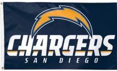 NFL Los Angeles Chargers Flag - 3 x 5 ft. / 90 x 150 cm