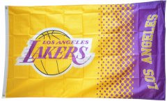 NBA Los Angeles Lakers Flag - 3 x 5 ft. / 90 x 150 cm