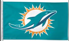 NFL Miami Dolphins Flag - 3 x 5 ft. / 90 x 150 cm