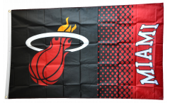 NBA Miami Heat Flag - 3 x 5 ft. / 90 x 150 cm