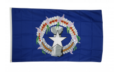 Northern Marianas Flag - 3 x 5 ft. / 90 x 150 cm