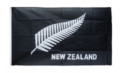 New Zealand feather all blacks Flag