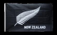 New Zealand feather all blacks Flag