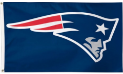 NFL New England Patriots Flag - 3 x 5 ft. / 90 x 150 cm