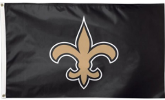 NFL New Orleans Saints Flag - 3 x 5 ft. / 90 x 150 cm