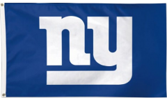NFL New York Giants Flag - 3 x 5 ft. / 90 x 150 cm