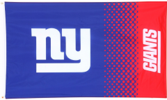 NFL New York Giants Fan Flag - 3 x 5 ft. / 90 x 150 cm