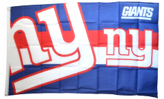 NFL New York Giants Logo Flag - 3 x 5 ft. / 90 x 150 cm