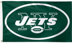 NFL New York Jets Flag - 3 x 5 ft. / 90 x 150 cm