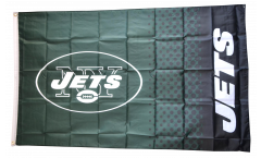 NFL New York Jets Fan Flag - 3 x 5 ft. / 90 x 150 cm