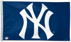 MLB New York Yankees Logo Flag - 3 x 5 ft. / 90 x 150 cm