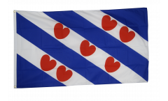 Netherlands Friesland Flag - 3 x 5 ft. / 90 x 150 cm