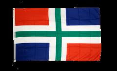 Netherlands Groningen Flag - 3 x 5 ft. / 90 x 150 cm