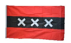 Netherlands Amsterdam Flag