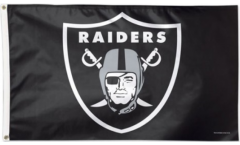 NFL Oakland Raiders Flag - 3 x 5 ft. / 90 x 150 cm