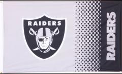 NFL Oakland Raiders Fan Flag - 3 x 5 ft. / 90 x 150 cm