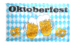 Oktoberfest Beer and Pretzel Flag - 3 x 5 ft. / 90 x 150 cm