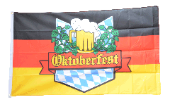 Oktoberfest Germany Flag - 3 x 5 ft. / 90 x 150 cm