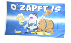 Oktoberfest O' Zapft is Flag - 3 x 5 ft. / 90 x 150 cm