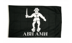Pirate Abh Amh Flag - 3 x 5 ft. / 90 x 150 cm