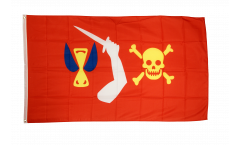Pirate Christopher Moody Flag - 3 x 5 ft. / 90 x 150 cm