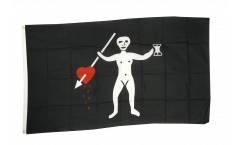 Pirate John Quelch Flag - 3 x 5 ft. / 90 x 150 cm