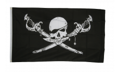 Pirate with sabre Flag