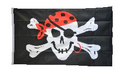 Pirate One eyed Jack Flag