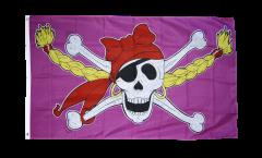 Pirate Princess Flag