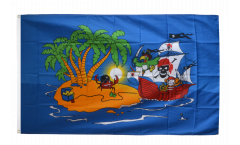 Pirate Corsair Flag - 3 x 5 ft.