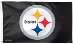 NFL Pittsburgh Steelers Flag - 3 x 5 ft. / 90 x 150 cm